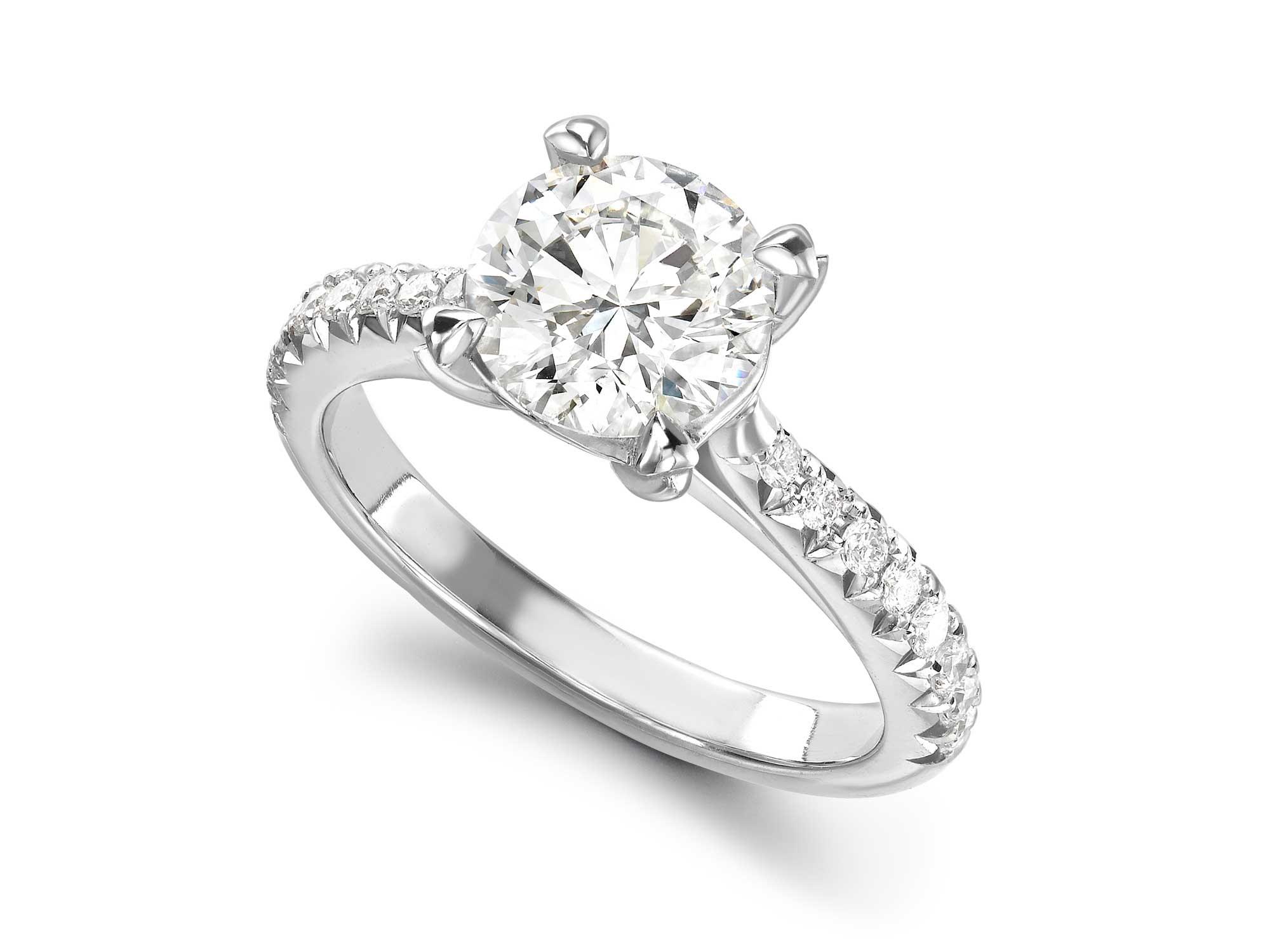 tiffany style engagement ring nancy emma franklin