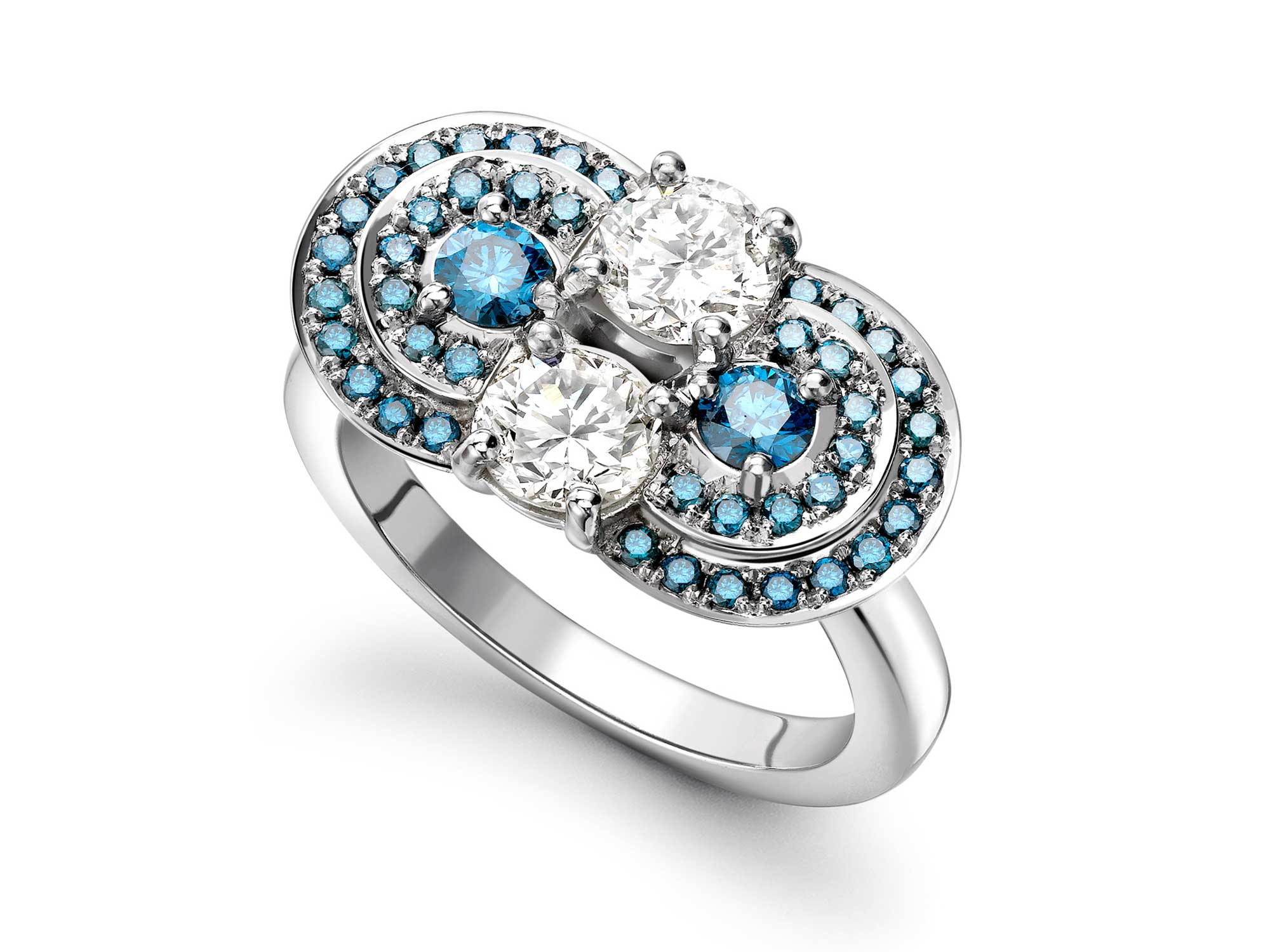 white gold engagement ring mia emma franklin london