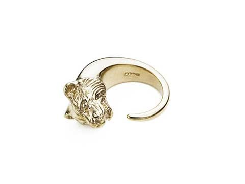 Profile Tiger head ring