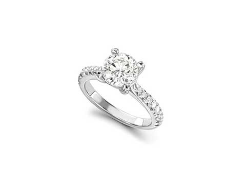 Tiffany Style Engagement Ring
