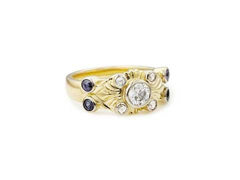 Early Deco Design Ring