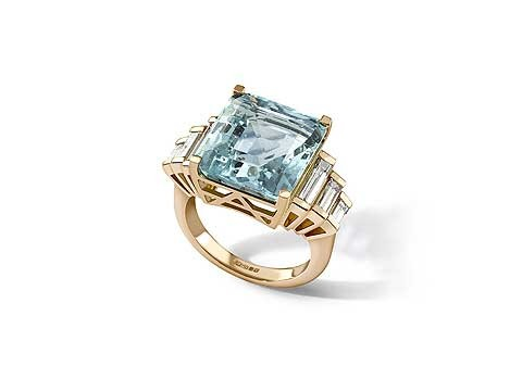 Aqua Marine diamond