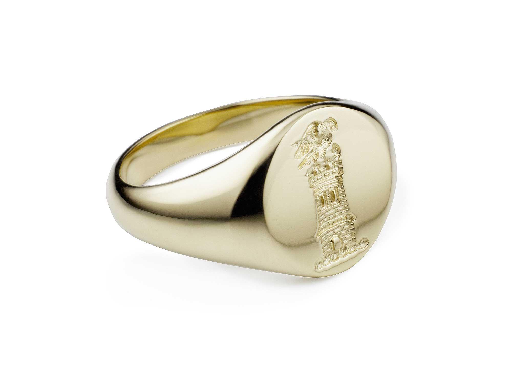 Chunky Signet Ring O Pop O Emma Franklin London