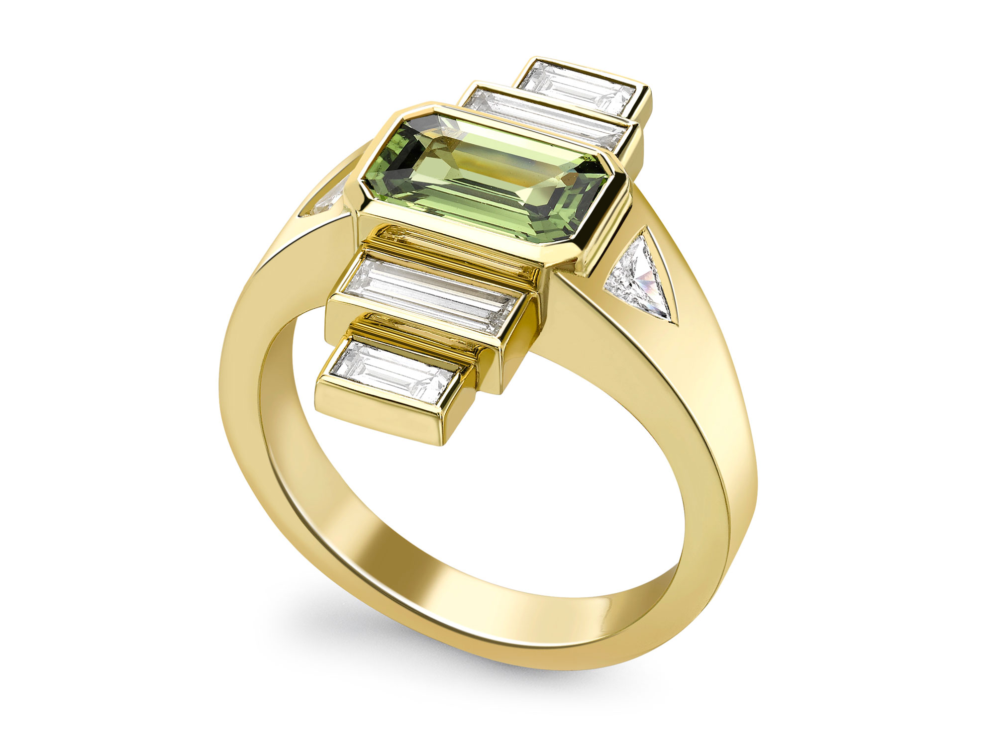 Image Result For Emerald Wedding Rings