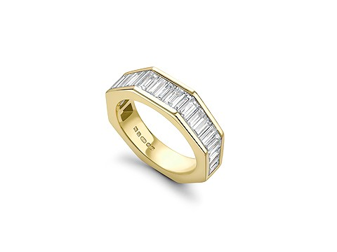 octagon eternity band