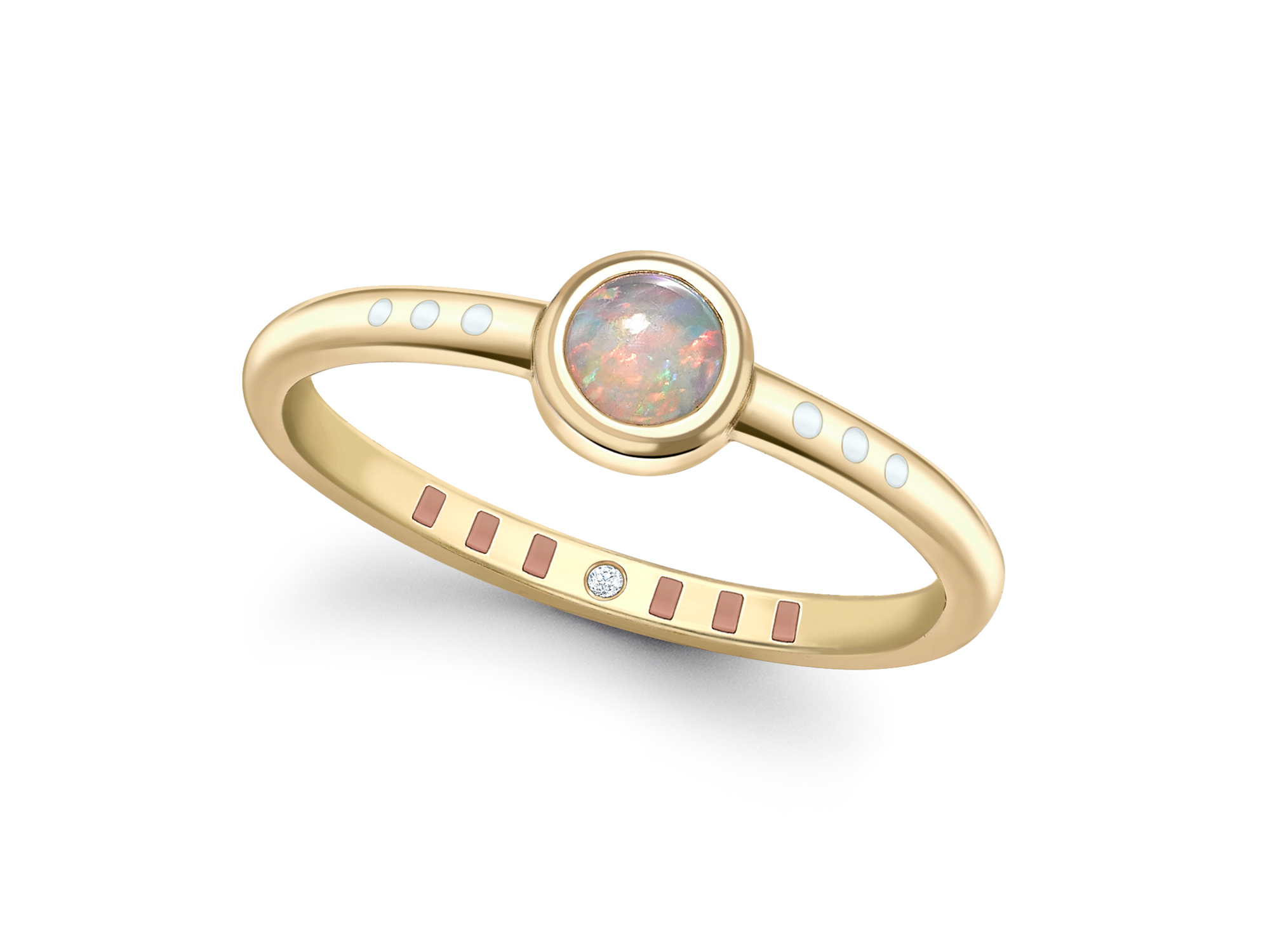 Rose Gold Engagement Rings Delicate