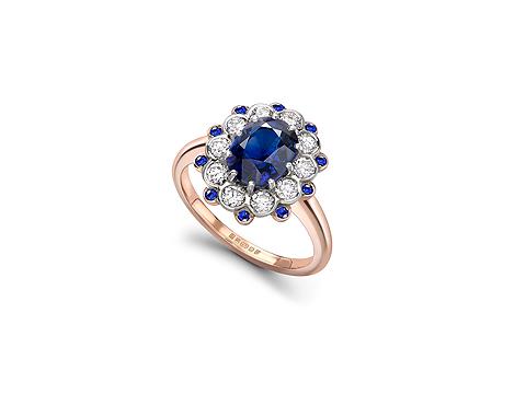 Oval cut Sri Lankan Sapphire