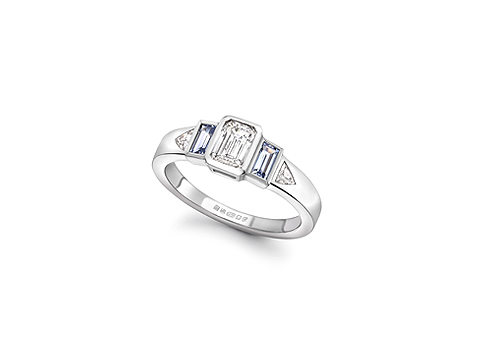 light blue sapphires