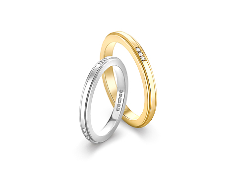 Structured Wedding Bands