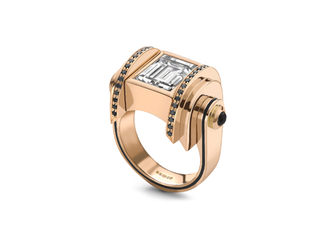 Diamond Rose Gold Deco